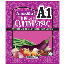 Action One Instant Curry Paste (Salted Fish & Cockles)