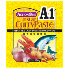 Action One Instant Curry Paste (Fish or Seafood)